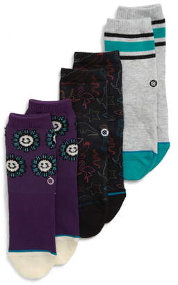 Stance 3-Pack You Are Silly Socks