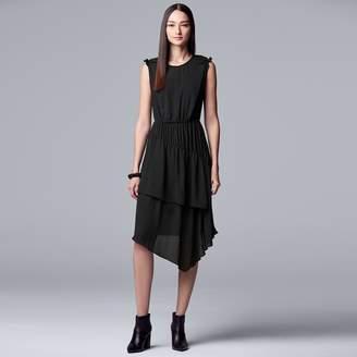 a59f8d6277d3 Vera Wang Women s Simply Vera Layered Ruffle Dress