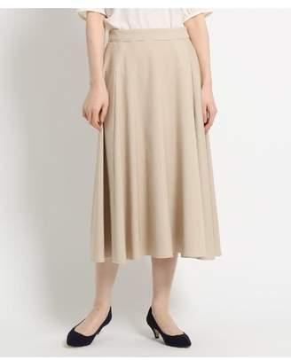 Dessin (デッサン) - Ladies [洗える][ウエスト後ろゴム]麻コットンブレンドフレアスカート
