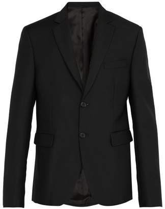 Acne Studios Brobyn Single Breasted Wool Blend Blazer - Mens - Black