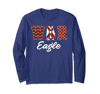 Auburn Tigers Patterned Letters Long Sleeve T-Shirt Apparel