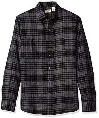 Dockers Jaspe Plaid Long Sleeve Button Front Shirt