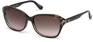 GUESS Women's Gu7510 Square Sunglasses