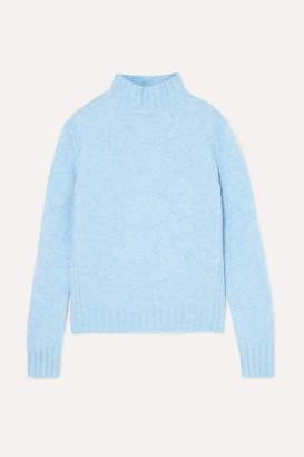 J.Crew Isabel Knitted Turtleneck Sweater - Blue