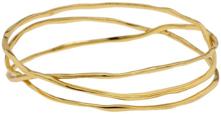 gorjana - Laurel Bangle (Gold) - Jewelry