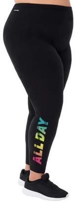 Danskin Women's Plus Graphic Legging