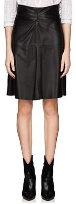 Isabel Marant Women's Gladys Lambskin Skirt - Black