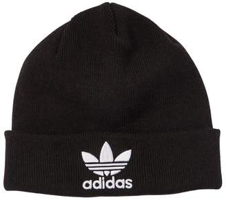 adidas Logo Embroidered Knit Beanie Hat