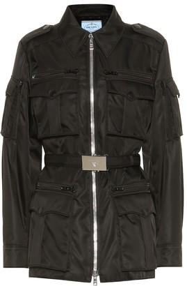 Prada Nylon military jacket