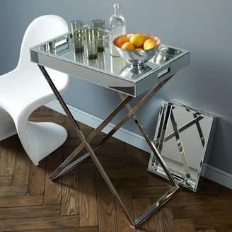 west elm Butler Bar Cart Set - Mirror Tray