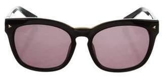 Balmain Square Tinted Sunglasses