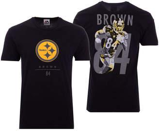 Majestic Men Antonio Brown Pittsburgh Steelers Notorious Player T-Shirt
