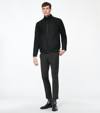 Andrew Marc BARLOW WOOL BOMBER JACKET