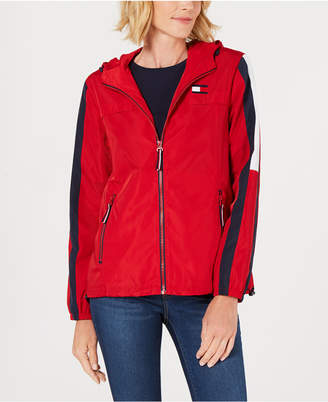 Tommy Hilfiger Colorblock Raincoat