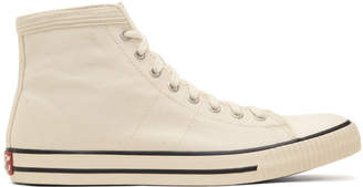 Visvim Ivory Keifer High-Top Sneakers