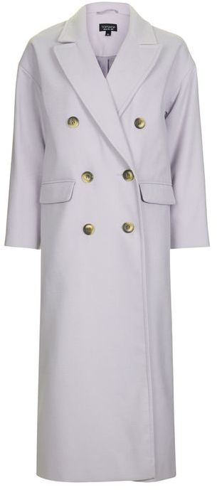 Topshop Topshop Double breasted slouch coat