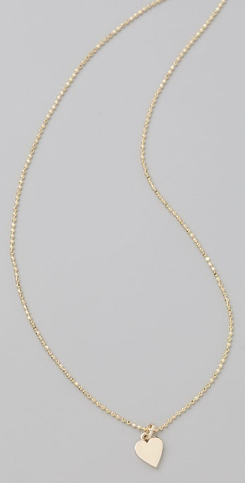 Jennifer Meyer Jewelry Heart Necklace