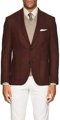 Luciano Barbera Men's Wool-Cashmere Flannel Two-Button Sportcoat