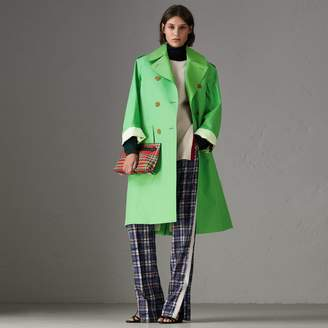 Burberry Bonded Cotton Double-breasted Coat