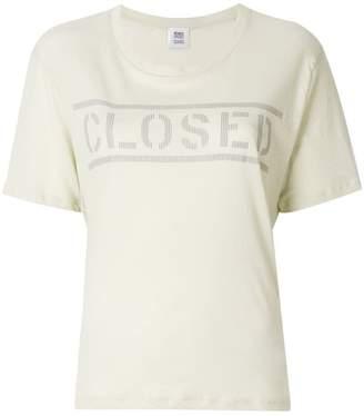 Closed logo T-shirt