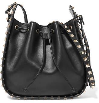 3ff6820b98 Valentino Rockstud Leather Shoulder Bag - ShopStyle Australia