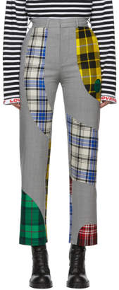 Charles Jeffrey Loverboy Grey Sculpture Suit Trousers