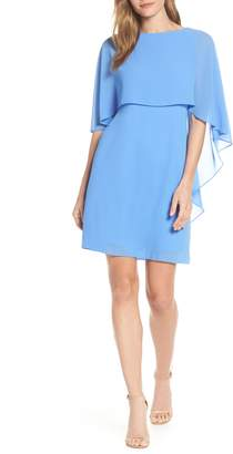 Vince Camuto Cape Overlay Dress