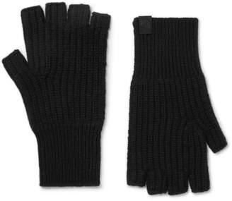 Rag & Bone Ace Ribbed Cashmere Fingerless Gloves - Men - Black