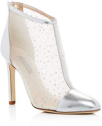 Sarah Jessica Parker Women's High Wire Glitter Mesh High-Heel Booties - 100% Exclusive