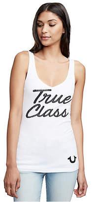 True Religion TRUE CLASS V NECK RIB TANK