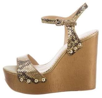 Ash Biba Embossed Wedges w/ Tags