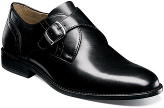 Nunn Bush Sabre Men's Plain Toe Monk Strap Dress Shoes