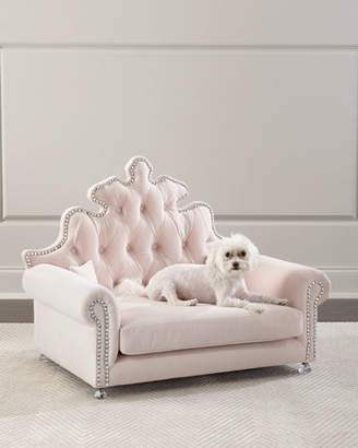 Haute House Isabella Blush Dog Bed