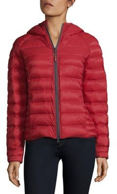 Canada Goose Brookvale Hooded Down Puffer Jacket $525 thestylecure.com
