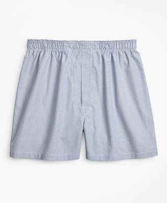 Brooks Brothers Traditional Fit Ground Hairline Stripe Boxers