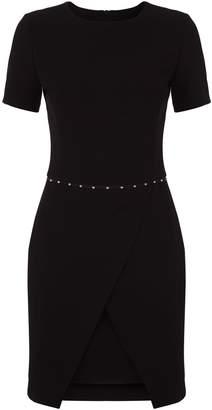 Emporio Armani Stud Trim Dress