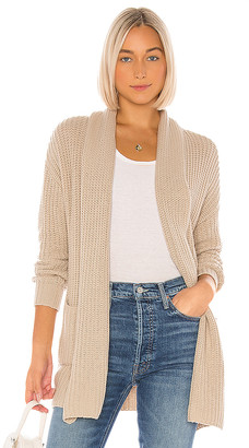 One Grey Day Alfred Draped Cardi
