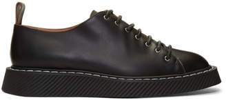 dcf28a885 Jil Sander Black Lace-Up Derbys