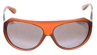 Derek Lam Shield Tinted Sunglasses