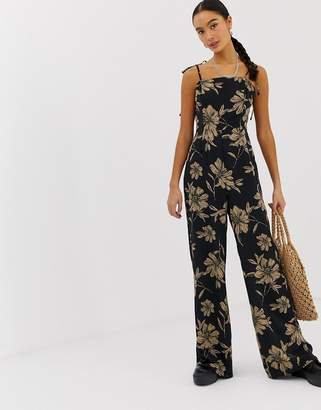 Emory Park cami jumpsuit in oversized floral