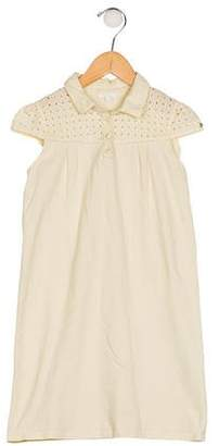 Gucci Girls' Short Sleeve Shift Dress