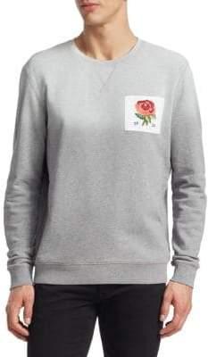Kent & Curwen Embellished Cotton Sweatshirt