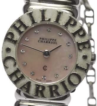 Charriol Philippe ST. Tropez Stainless Steel / 925 Sterling Sliver Quartz 24.5mm Womens Watch