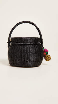 Mercedes Salazar Canasto Universo Honey Pot Bag