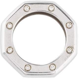 Audemars Piguet 18K Diamond Royal Oak Pendant