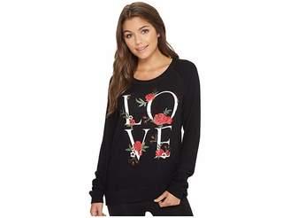 PJ Salvage Rock 'N Rose Love Sweater Women's Sweater