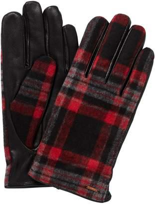 Scotch & Soda Checked Gloves