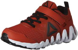Reebok Kid's Boy's Zig Big N Fast Pro Alternate Closure Running Shoes, Primal Red/White/Black