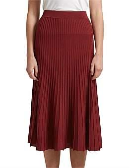 SABA Ruby Rib Knit Midi Skirt