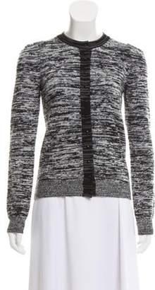 Stella McCartney Long Sleeve Wool Cardigan Grey Long Sleeve Wool Cardigan